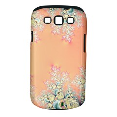 Peach Spring Frost On Flowers Fractal Samsung Galaxy S Iii Classic Hardshell Case (pc+silicone)