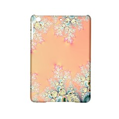 Peach Spring Frost On Flowers Fractal Apple Ipad Mini 2 Hardshell Case by Artist4God