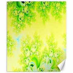 Sunny Spring Frost Fractal Canvas 8  X 10  (unframed) by Artist4God