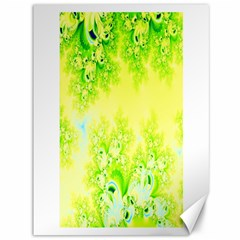 Sunny Spring Frost Fractal Canvas 36  X 48  (unframed) by Artist4God