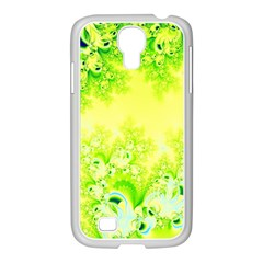 Sunny Spring Frost Fractal Samsung Galaxy S4 I9500/ I9505 Case (white) by Artist4God