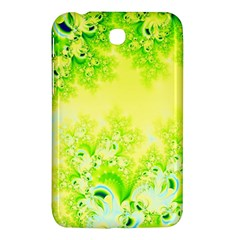 Sunny Spring Frost Fractal Samsung Galaxy Tab 3 (7 ) P3200 Hardshell Case  by Artist4God