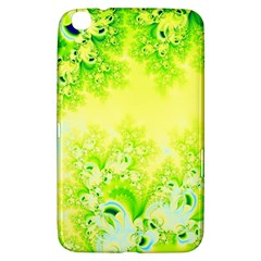 Sunny Spring Frost Fractal Samsung Galaxy Tab 3 (8 ) T3100 Hardshell Case  by Artist4God