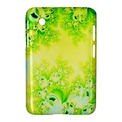 Sunny Spring Frost Fractal Samsung Galaxy Tab 2 (7 ) P3100 Hardshell Case  by Artist4God