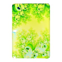 Sunny Spring Frost Fractal Samsung Galaxy Tab Pro 10 1 Hardshell Case by Artist4God
