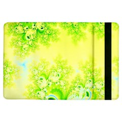 Sunny Spring Frost Fractal Apple Ipad Air Flip Case by Artist4God