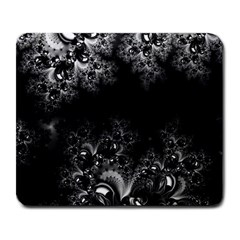 Midnight Frost Fractal Large Mouse Pad (rectangle) by Artist4God
