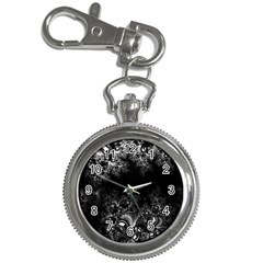 Midnight Frost Fractal Key Chain Watch by Artist4God