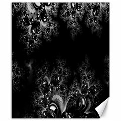 Midnight Frost Fractal Canvas 8  X 10  (unframed) by Artist4God