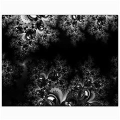 Midnight Frost Fractal Canvas 11  X 14  (unframed) by Artist4God
