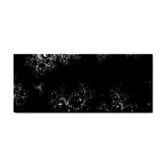 Midnight Frost Fractal Hand Towel by Artist4God