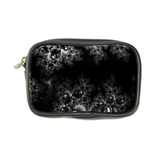 Midnight Frost Fractal Coin Purse by Artist4God