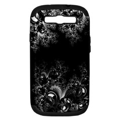 Midnight Frost Fractal Samsung Galaxy S Iii Hardshell Case (pc+silicone) by Artist4God