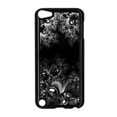 Midnight Frost Fractal Apple Ipod Touch 5 Case (black) by Artist4God