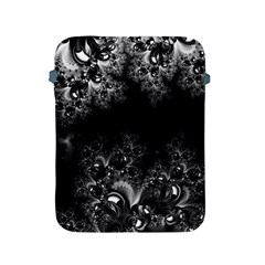 Midnight Frost Fractal Apple Ipad Protective Sleeve by Artist4God