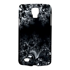 Midnight Frost Fractal Samsung Galaxy S4 Active (i9295) Hardshell Case by Artist4God