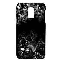 Midnight Frost Fractal Samsung Galaxy S5 Mini Hardshell Case  by Artist4God