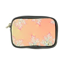 Peach Spring Frost On Flowers Fractal Coin Purse