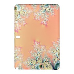Peach Spring Frost On Flowers Fractal Samsung Galaxy Tab Pro 10 1 Hardshell Case