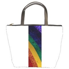 Rainbow Bucket Handbag by Willowofthewoods