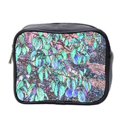 Colored Pencil Tree Leaves Drawing Mini Travel Toiletry Bag (two Sides) by LokisStuffnMore