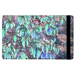 Colored Pencil Tree Leaves Drawing Apple Ipad 2 Flip Case by LokisStuffnMore