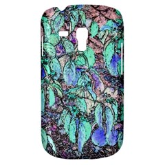 Colored Pencil Tree Leaves Drawing Samsung Galaxy S3 Mini I8190 Hardshell Case by LokisStuffnMore