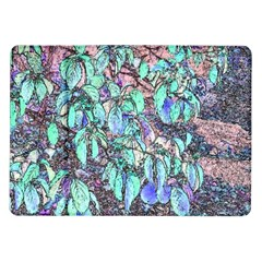 Colored Pencil Tree Leaves Drawing Samsung Galaxy Tab 10 1  P7500 Flip Case by LokisStuffnMore