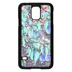 Colored Pencil Tree Leaves Drawing Samsung Galaxy S5 Case (black) by LokisStuffnMore