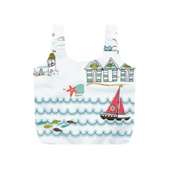 Summer Holiday Reusable Bag (s) by whitemagnolia