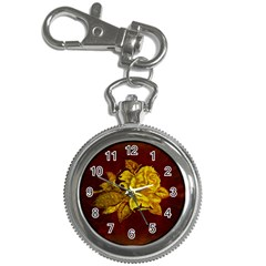 Rose Key Chain Watch