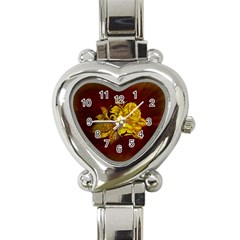 Rose Heart Italian Charm Watch  by ankasdesigns