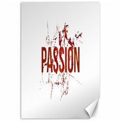 Passion And Lust Grunge Design Canvas 20  X 30  (unframed) by dflcprints