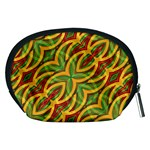Tropical Colors Abstract Geometric Print Accessory Pouch (Medium) Back