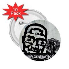 m.g firetested 2.25  Button (10 pack)
