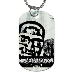 m.g firetested Dog Tag (One Sided)