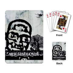 m.g firetested Playing Cards Single Design