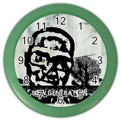 m.g firetested Wall Clock (Color)