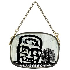 m.g firetested Chain Purse (Two Sided)