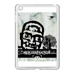 M G Firetested Apple Ipad Mini Case (white) by holyhiphopglobalshop1