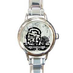 M G Firetested Round Italian Charm Watch by holyhiphopglobalshop1