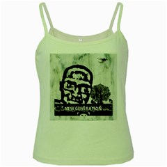 M G Firetested Green Spaghetti Tank by holyhiphopglobalshop1