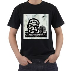 M G Firetested Men s T Shirt (black) by holyhiphopglobalshop1