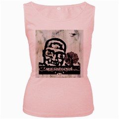 M G Firetested Women s Tank Top (pink) by holyhiphopglobalshop1