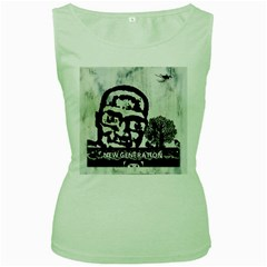 M G Firetested Women s Tank Top (green)