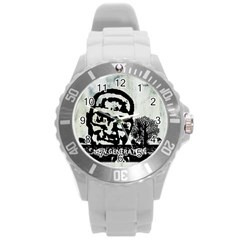 M G Firetested Plastic Sport Watch (large) by holyhiphopglobalshop1