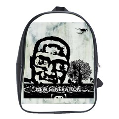 M G Firetested School Bag (xl) by holyhiphopglobalshop1