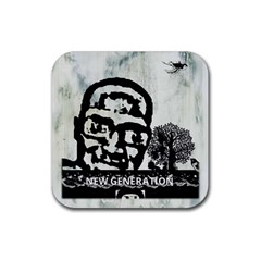 M G Firetested Drink Coaster (square) by holyhiphopglobalshop1