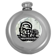 M G Firetested Hip Flask (round) by holyhiphopglobalshop1