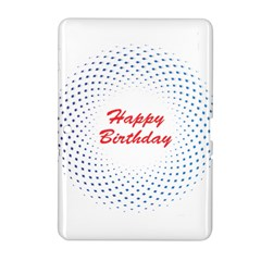 Halftone Circle With Squares Samsung Galaxy Tab 2 (10 1 ) P5100 Hardshell Case